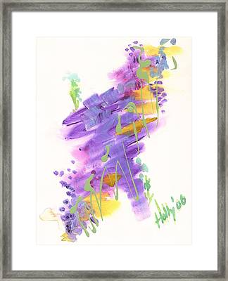 Faith The Final Frontier Framed Print