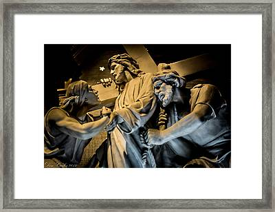 Faithful Sacrifice Framed Print
