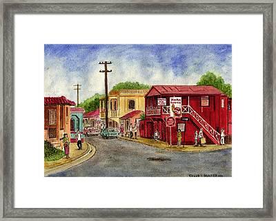 Fajardo Puerto Rico Framed Print