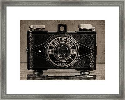 Falcon Minicam Junior Framed Print