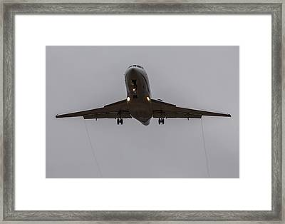 Falcon Trails Framed Print by John Daly