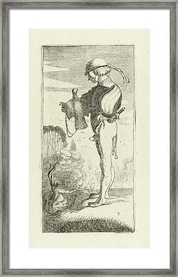 Falconer, Jan Van De Velde II, Robert De Baudous Framed Print by Jan Van De Velde (ii) And Robert De Baudous