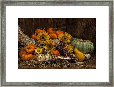 Fall Assortment Framed Print
