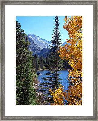 Fall At Bear Lake Framed Print
