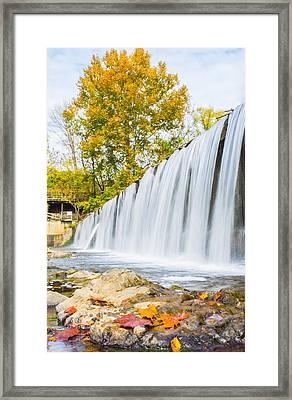 Fall At Buck Creek Framed Print