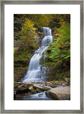 Fall At Cathedral Falls Framed Print