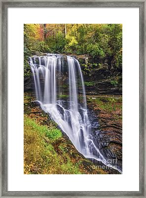 Dry Falls In Autumn Framed Print