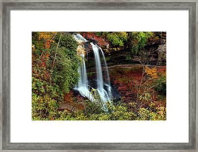 Fall At Dry Falls Framed Print