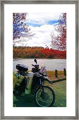 Fall At Fern Clyffe Framed Print