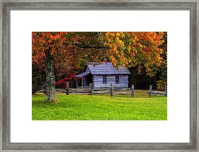 Framed Framed Print by Anthony Heflin