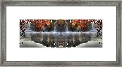Fall At Lake Soddy Framed Print