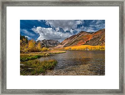 Fall At North Lake Framed Print by Cat Connor