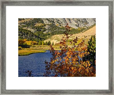 Fall At North Lake Framed Print