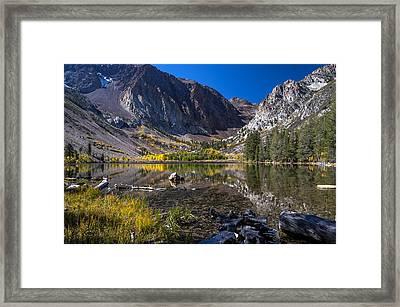 Fall At Parker Lake Framed Print