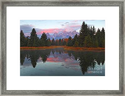 Fall At Schwabacher's Framed Print