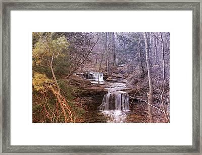 Fall At The Heldeberg Mountain Framed Print by Edward Kocienski