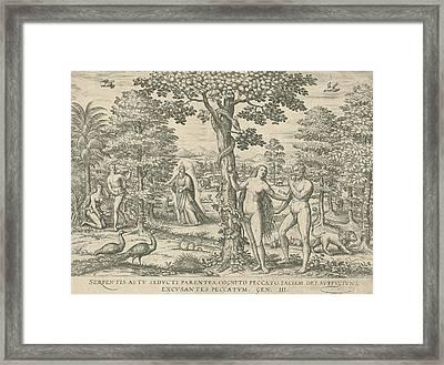 Fall, Attributed To Symon Novelanus Framed Print