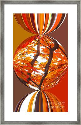 Fall Ball - Autumn Color Framed Print by Scott Cameron