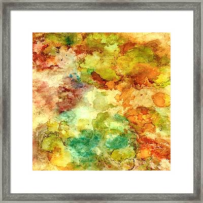 Fall Bouquet Framed Print by Rosie Brown