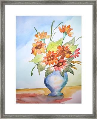 Fall Bouquet Framed Print