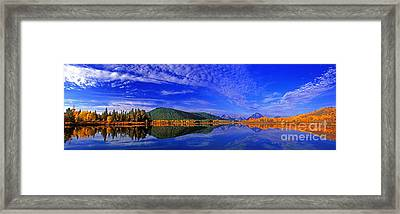 Framed Print featuring the photograph Fall Color Oxbow Bend Grand Tetons National Park Wyoming by Dave Welling