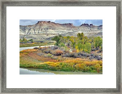 Fall Colors At Scott's Bottom Framed Print