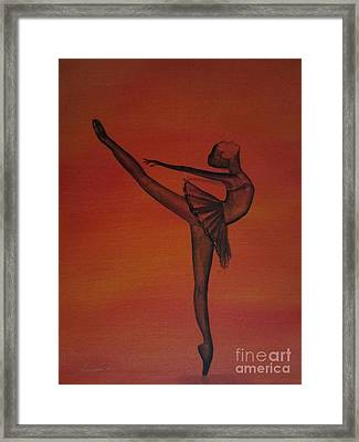 Fall Dancer 1 Framed Print