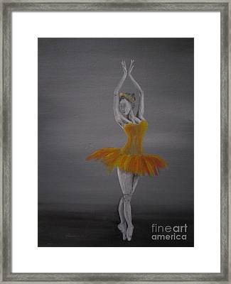 Fall Dancer 2 Framed Print