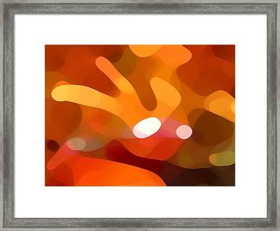 Fall Day Framed Print by Amy Vangsgard