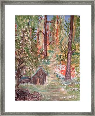 Fall Day Framed Print by Suzanne Surber