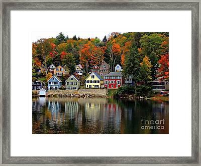 Fall Days Framed Print