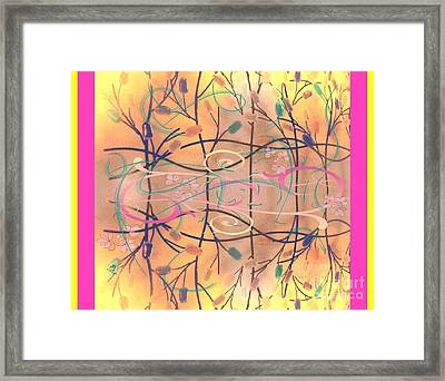 Fall Designs Framed Print
