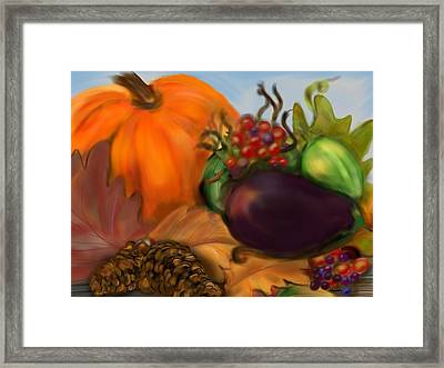 Fall Festival Framed Print