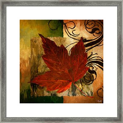 Fall Festiveness Framed Print by Lourry Legarde