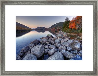 Fall Flames Framed Print