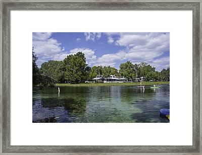Fall Florida Afternoon Fun Framed Print by Judy Hall-Folde