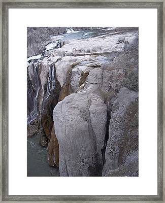 Fall Formation Framed Print by Angela Stout