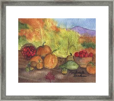 Fall Harvest Framed Print