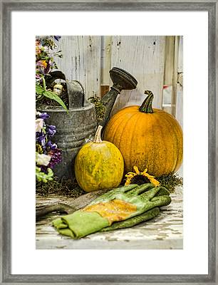 Fall Harvest Framed Print by Heather Applegate