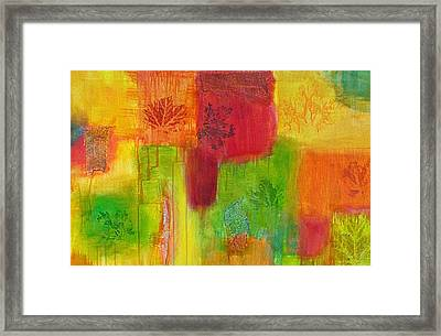 Fall Impressions Framed Print