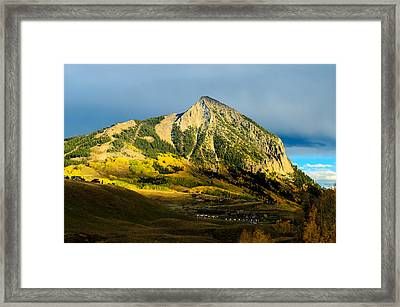 Fall In Cb Framed Print by Mike Schmidt