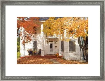 Fall In Eureka Springs Framed Print