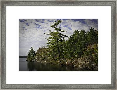 Fall In Northern Ontario Framed Print