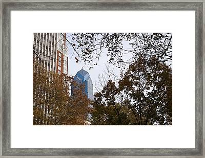 Fall In Philly Framed Print