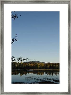 Fall In The Adirondacks Framed Print