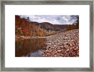 Fall In The Ozarks Framed Print