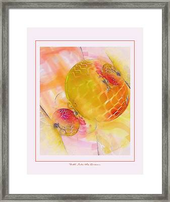 Fall Into The Dream Framed Print by Gayle Odsather