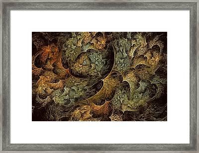 Fall Leaves-3  Framed Print