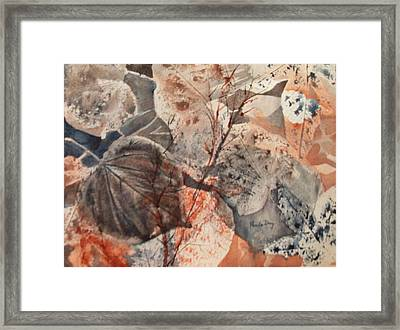 Fall Leaves Framed Print