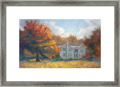 Fall Framed Print by Lucie Bilodeau